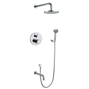 Attractive High Quality Concealed Bathroom Tub Shower Set
