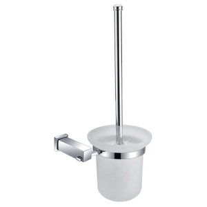 Modern Stylish Chrome Plated Brass Toilet Brush Holder BP9308S