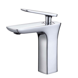 New Chrome Plated Single Lever Faucet Basin Sink Bathroom Tap Motorhome