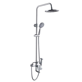 Brass Chrome Shower Faucet Strong Large Flow Of The Water
