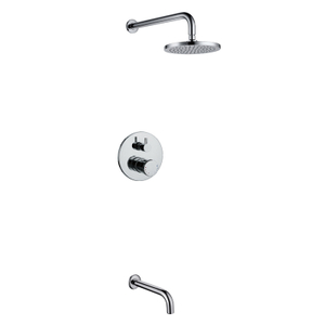 Brass Concealed Bathroom Shower Faucet Set Bathroom Shower Set for Hotel