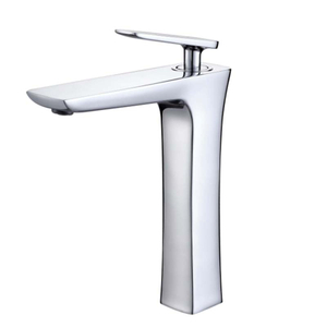 Brass Single Handle Single Hole Bathroom Sink Faucet