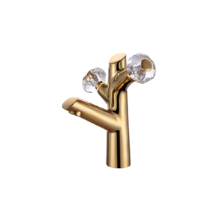 HANWEI® Antique Style Gold Taps For Bathroom Sink