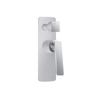 Single Handle Wall Mounted Rainfall Shower Mixer Taps