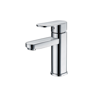 HANWEI® Modern 8 In. Widespread White Bathroom Vanity Taps