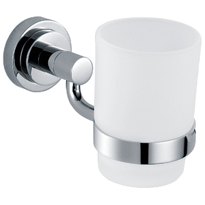 Simple Bathroom Accessories Zinc Alloy Single Toothbrush Holder BP9602