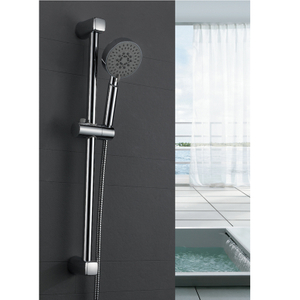 Chromed Hand Shower Sliding Bar with Height Adjustable