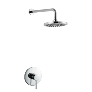 Wall Hung Mounted Bathroom Concealed Shower Faucet Sets