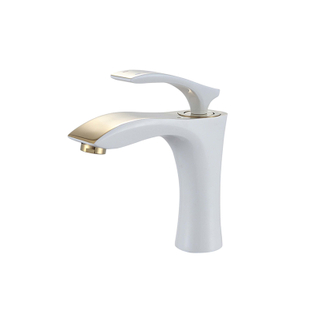 Unique Design Single Hole Bathroom Sink Faucet