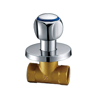 Single Hole Single Handle Brass Lavatory Stop Cock SSF13
