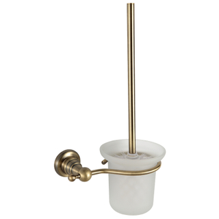 China Unique Brass Toilet Brush Holder For Hotel Bathroom