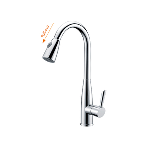 New Style Solid Brass Fashion Pull Out Sprayer Kitchen Taps Sink Faucet Kitchen Faucet