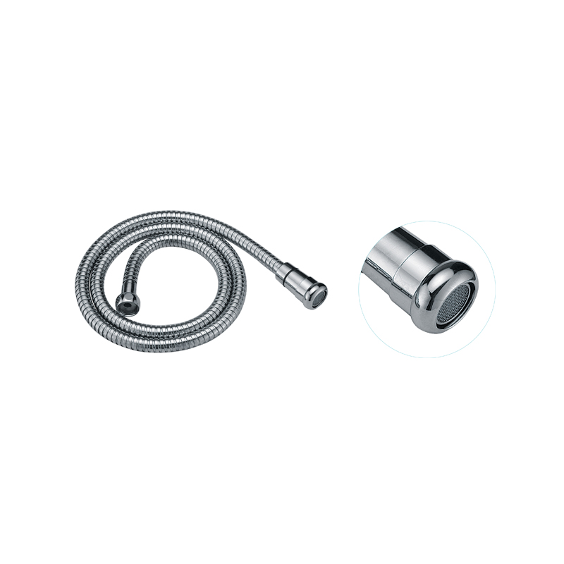 Toilet Stainless Steel Chrome Shower Spray Hose with Nozzle