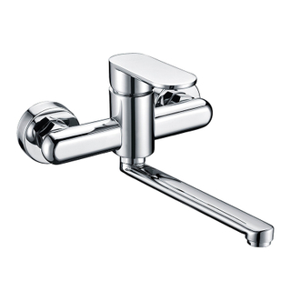Modern Chrome Exposed Brass Shower Taps