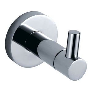 Contemporary Style Chrome Towel Robe Hook