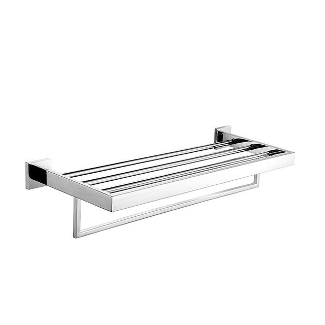 Towel Rack | Bathroom Double Towel Rack | Wall Mounted Stainless Steel Towel Rack Holder