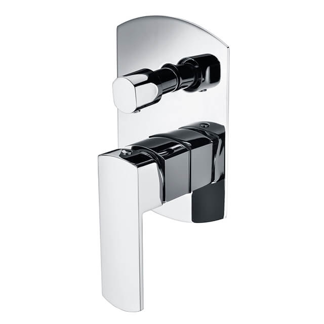Brass Shower Mixer | Wall Mounted Diverter Mixers | Bathroom Chrome Dual Function Shower Mixers