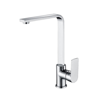 Brass Single Handle Kitchen Faucet | Watermark Deck Mounted Kitchen Sink Faucet