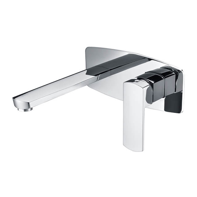Concealed Shower Faucet | Brass Wall Mounted Bathtub Faucet | Bathroom Chrome Tub And Shower Mixer Taps