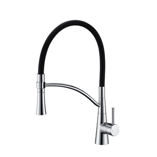 Watermark Chrome Kitchen Faucet | Brass 360 Degree Swivel Kitchen Sink Faucet