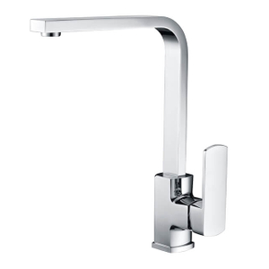 Brass Kitchen Faucet | Single Handle Single Hole Kitchen Faucet | Deck Mounted Chrome Kitchen Sink Faucets